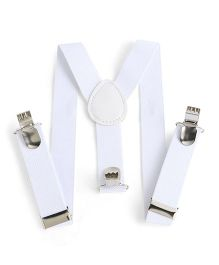 Babyhug Y Shape Suspenders - White