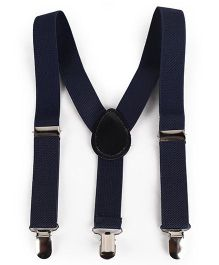 Babyhug Y Shape Suspenders - Navy Blue