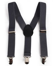 Babyhug Y Shape Suspenders - Grey