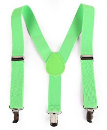 Babyhug Y Shape Suspenders - Green