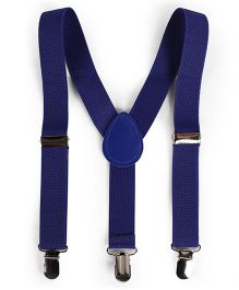 Babyhug Y Shape Suspenders - Blue