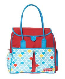 Fisher Price Orectic Baguette Diaper Bag - Red