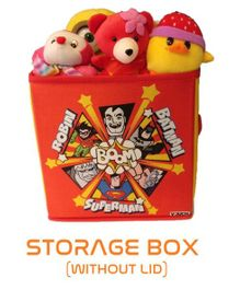 DC Super Friends Storage Box Small - Orange