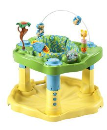Evenflo Exersaucer Bounce & Learn Zoo Friends - Yellow