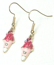 Asthetika Ice-Cream Earrings - Pink