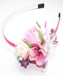 Asthetika Floral Hair Band - Light Pink