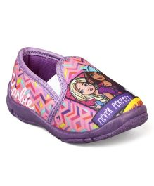 Barbie Slip On Casual Shoes - Purple & Pink
