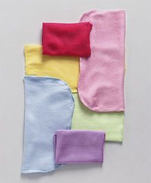 Ohms Napkins Pack of 6 - Multi Colour
