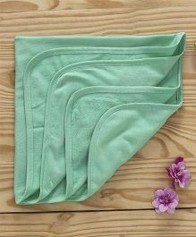Ohms Hooded Terry Towels - Green
