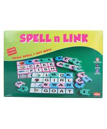 Prime Spell And Link Game - Multicolor