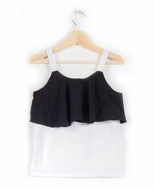 Cubmarks Flappy Strappy Top - Black