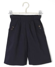 Cubmarks Buttoned Culottes - Blue