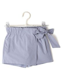 Cubmarks Tie Up Skirt Style Shorts - Blue