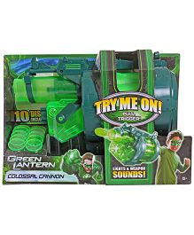 Green Lantern Colossal Cannon Blaster - Green