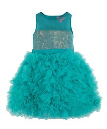 Toy Balloon Sequin Princess Dress - Blue