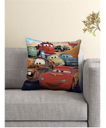 Disney Pixar Cars Printed Cushion Cover - Multi Color
