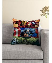 Marvel Avengers Cushion Cover - Red Blue Green
