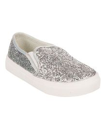 One Friday Party Wear Shoes - Silver