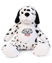 Dimpy Stuff Dalmatian Puppy Soft Toy Black & White - Height 46 cm