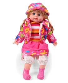Smiles Creation Magical Scoops Baby Doll With Accessories Multicolor - 31 cm