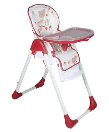 Sunbaby Riding Panda High Chair - White