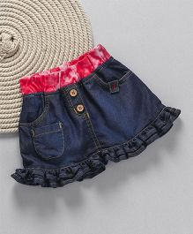 Little Kangaroos Denim Skirts - Dark Blue