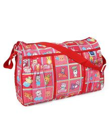 Mee Mee Nursery Bag Animal Print - Red
