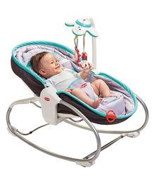 Tiny Love 3-In-1 Rocker Napper - Brown & Turquoise