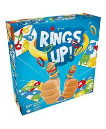 Blue Orange Rings Up Multi Player Game - Multicolour