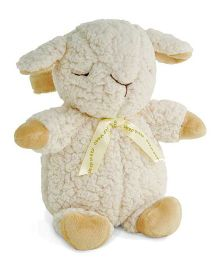 Cloud B Battery Operated Sheep Soft Toy Off White - Height 28 cm