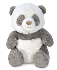 Cloud B Battery Operated Peaceful Panda Soft Toy Grey - Height 21.4 cm