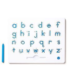 Kid O A To  Z Lower Case Magnetic Tab - Blue White