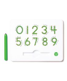 Kid O 0 To 9 Numbers Magnatab - Green White