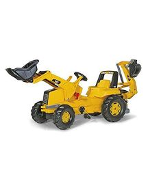 Rolly Toys Junior Cat Tractor Ride On - Yellow
