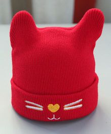 Little Palz Cute Cap - Red