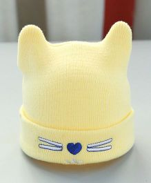 Little Palz Cute Cap - Yellow