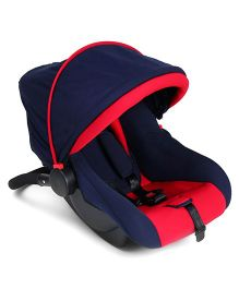 Baby Carry Cot Cum Rocker - Red & Blue