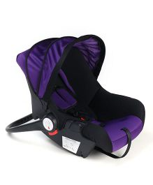 Baby Car Seat Cum Carry Cot And Rocker - Purple Black