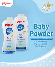 Pigeon Baby Powder Pack of 2 - 500 gm Each