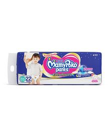 MamyPoko Extra Absorb Pant style Diaper Extra Extra Large Size - 22 Pieces