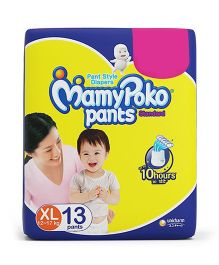 MamyPoko Standard Pant Style Diaper Extra Large Size - 13 Pieces