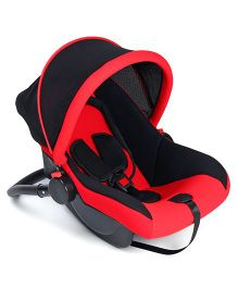 Baby Carry Cot Cum Rocker - Black & Red