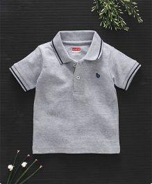 Babyhug Half Sleeves Cotton Polo T Shirt