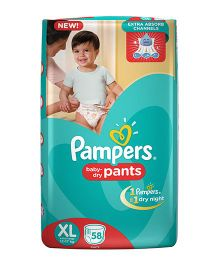 Pampers Pant Style Diapers Extra Large - 58 Pieces
