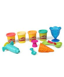 Play Doh Ice Cream Theme Clay Toy - Multi Color