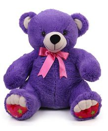 Liviya Teddy Bear Soft Toy Purple - Height 47 cm