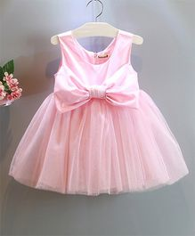 Pre Order - Wonderland Tutu Dress With A Large Bow - Pink