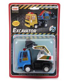 Centy Miniature Excavator Toy Truck - Blue White