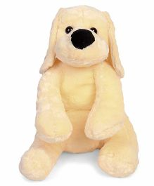 Dimpy Stuff Puppy Soft Toy Cream - 80 cm
