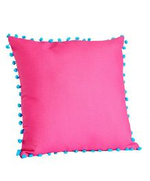 My Gift Booth Cushion Cover Pom Pom Design - Pink